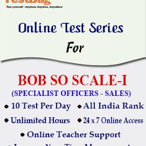 BOB SO SALES