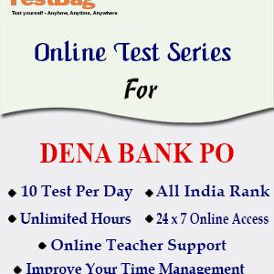 Dena Bank PO