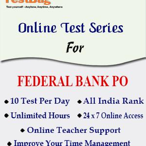 Federal Bank PO