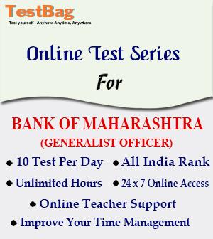 Bank of Maharashtra Generalist